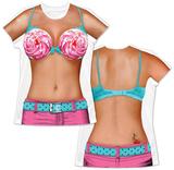Womans: Cupcake Bikini Costume Tee T-Shirts