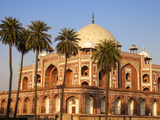 India, Delhi, New Delhi, Humayun's Tomb - the Tomb of the Mughal Emperor Humayun. Photographic Print by Jane Sweeney
