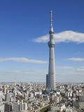 Japan, Honshu, Kanto, Tokyo, Asakusa, Skytree Tower Reproduction photographique par Steve Vidler
