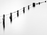 Old Fence, Derwentwater, Cumbria, UK Photographic Print by Nadia Isakova