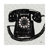 Vintage Analog Phone Giclee Print by Michael Mullan