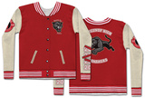 Long Sleeve: Letterman Jacket Costume Tee T-shirty