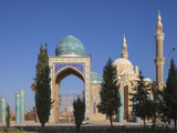 Iraq, Kurdistan, Erbil, Jalil Khayat Mosque Photographic Print by Jane Sweeney