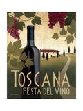 Wine Festival I Giclee-tryk i høj kvalitet af Marco Fabiano