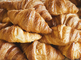 France, Croissants Photographic Print by Steve Vidler