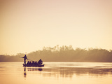 Nepal, Chitwan National Park, Narayani River Photographic Print by Michele Falzone