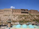 Iraq, Kurdistan, Erbil, a Mosque Beneath the Citadel Photographic Print by Jane Sweeney