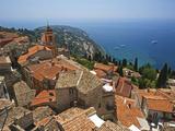 Roquebrune, Cote D´Azur, Alpes-Maritimes, Provence-Alpes-Cote D'Azur, Frankreich Photographic Print by Katja Kreder