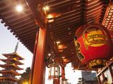 Japan, Tokyo, Asakusa, Asakusa Kannon Temple Photographic Print by Steve Vidler