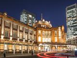Japan, Honshu, Kanto, Tokyo, Tokyo Station Photographic Print by Steve Vidler