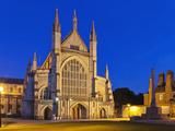 England, Hampshire, Winchester, Winchester Cathedral Photographic Print by Steve Vidler