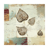 Silver Leaves I Giclee Print by James Wiens