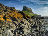 Europe, England, Northumberland, Holy Island, Lindisfarne Castle Photographic Print by Mark Sykes