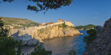 Croatia, Dalmatia, Dubrovnik, Old Town (Stari Grad), Old Town Walls Photographic Print by Alan Copson