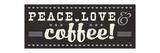 Coffee Lovers IV Premium Giclee Print by  Pela
