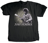 Jimi Hendrix - Starburst Lyrics Shirt