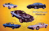 Pontiac Trans Am Tin Sign Tin Sign