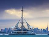Kuwait, Kuwait City, Salmiya, Marina Waves Leisure Complex Photographic Print by Jane Sweeney