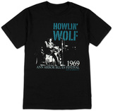 Howlin Wolf - Center Stage T-shirts by Jim Marshall