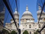 England, London, the City, St Pauls Cathedral Photographic Print by Steve Vidler