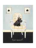 La Woof Giclee Print by Emily Adams