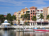 USA, Florida, Gulf Coast, Naples, Bayfront Photographic Print by Walter Bibikow