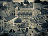 Croatia, Dalmatia, Dubrovnik, Old Town from Old Town Walls, Church of St. Blaise Photographic Print by Alan Copson