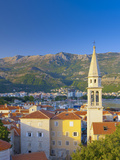 Montenegro, Budva, Old Town, Stari Grad, Sveti Ivan, Church of Saint John Photographic Print by Alan Copson