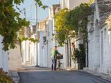 Trulli Houses, Alberobello, Apulia, Puglia, Italy Fotodruck von Peter Adams