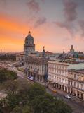 Capitolio, Gran Teatro and Inglaterra Hotel, Havana, Cuba Photographic Print by Jon Arnold
