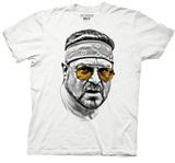 Big Lebowski - Walter Orange Glasses Tshirts