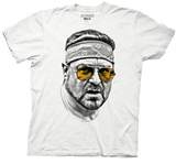 Big Lebowski - Walter Orange Glasses T-Shirt