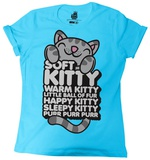 Juniors: Big Bang Theory - Soft Kitty Hugging (rolled sleeves) T-shirts