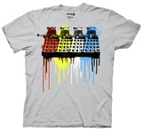 Doctor Who - Rainbow Daleks T-shirts
