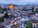 Spain, Andalucia, Granada Province, Sacromonte and Albaicin Districts Fotodruck von Alan Copson