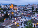 Spain, Andalucia, Granada Province, Sacromonte and Albaicin Districts Photographic Print by Alan Copson