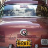 Classic American Car, Havana, Cuba Photographic Print by Jon Arnold
