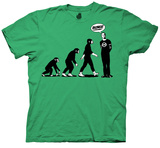 Big Bang Theory - Evolution T-shirts