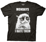 Grumpy Cat - Mondays I Hate Them T-Shirt