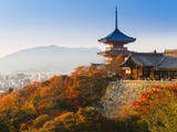 Japan, Honshu, Kansai Region, Kiyomizu-Dera Photographic Print by Gavin Hellier