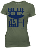 Juniors: Firefly - Blue Sun T-shirts