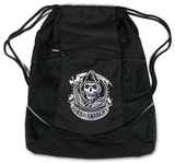 Sons of Anarchy - Reaper Logo Drawstring Bag Drawstring Bag