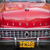 Classic American Car (Pontiac), Havana, Cuba Photographic Print by Jon Arnold