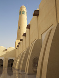 Qatar, Doha,  Mohammed Bin Abdulwahhab Mosque - the State Mosque of Qatar Photographic Print by Jane Sweeney