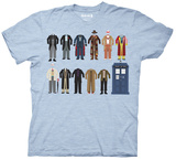 Doctor Who - Dr Outfits T-Shirt