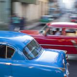 Classic American Cars, Havana, Cuba Photographic Print by Jon Arnold