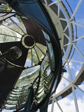 USA, Florida, Jupiter, Jupiter Inlet Lighthouse, Detail of the Fresnel Lens Photographic Print by Walter Bibikow