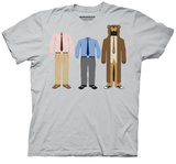 Workaholics - Group Outfits T-shirts
