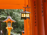 Asia, Japan, Honshu, Kansai Region, Kyoto, Fushimi-Inari Taisha Shrine Photographic Print by Gavin Hellier