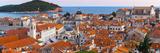 Croatia, Dalmatia, Dubrovnik, Old Town (Stari Grad) from Old Town Walls Photographic Print by Alan Copson